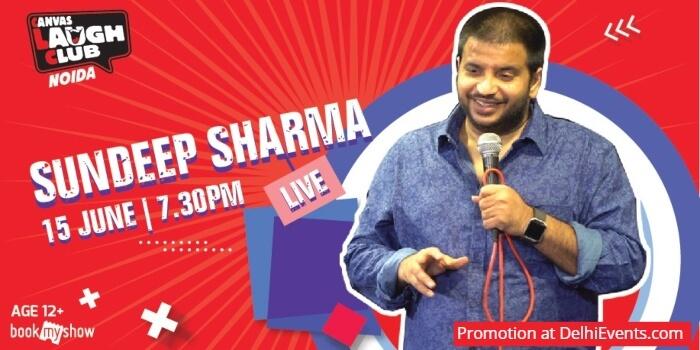 Hinglish Standup Sundeep Sharma Canvas Laugh Club Creative