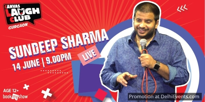 Standup Sundeep Sharma Canvas Laugh Club Creative