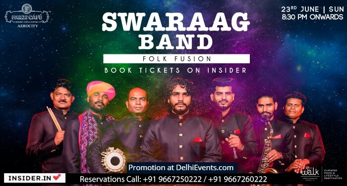 Swaraag Band Farzi Cafe Creative