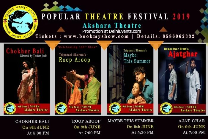 Unicorn Actors Studio presents Popular Theatre Festival 2019 Akshara Theatre Creative