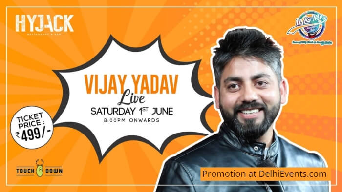 Hinglish standup Vijay Yadav Hyjack Creative