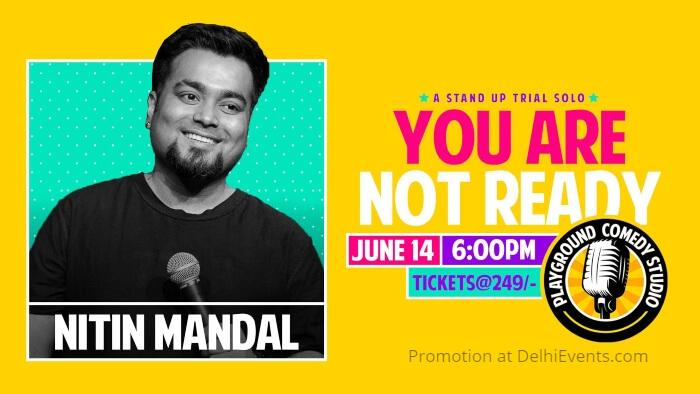 standup Nitin Mandal Playground Comedy Studio Creative