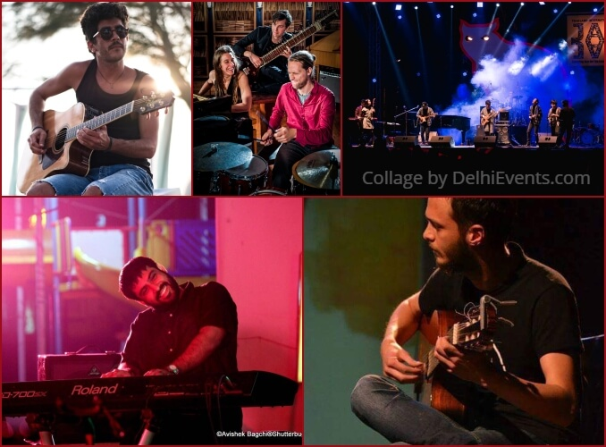 8th Delhi International Jazz Festival 2019 Artists
