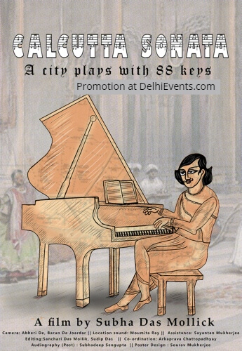 Subha Das Mollick Calcutta Sonata City Plays 88 Keys Film Poster