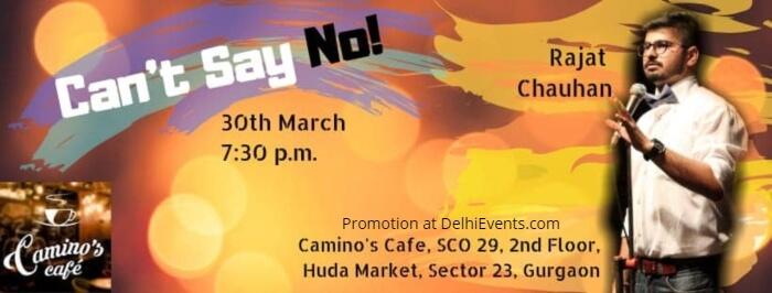 Standup Hinglish Rajat Chauhan Camino Cafe Creative