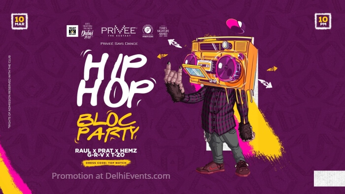 Hip Hop Bloc Party Privee Creative