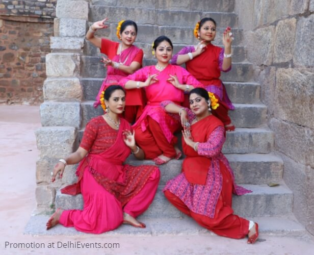 Jayantika Mayadhar Raut School Odissi Dance Abhisarika Nayika Dancers