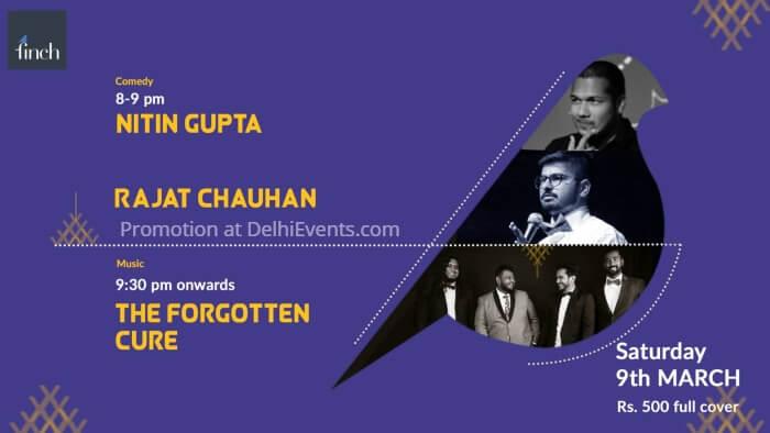 Music Comedy Nights Hinglish Nitin Gupta Rajat Chauhan Forgotten Cure Finch Creative