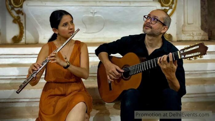 Flautist Nathalie Ramirez Guitarist Shyamant Behal