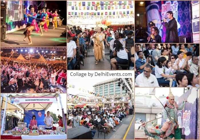 Royal Thailand Embassy Namaste Festival 2019 Collage