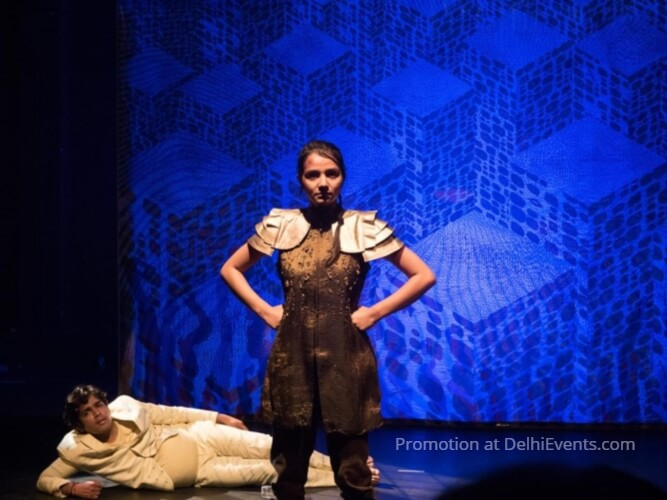 Tadpole Repertory Rakshas Hindi Play Still