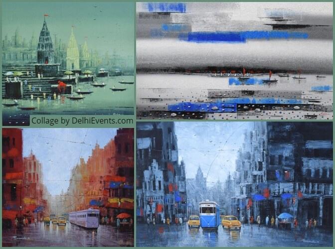Artworks by Reba Mandal Purnendu Mandal