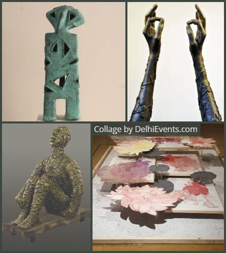 Sculpt Delhi Exhibition Artworks