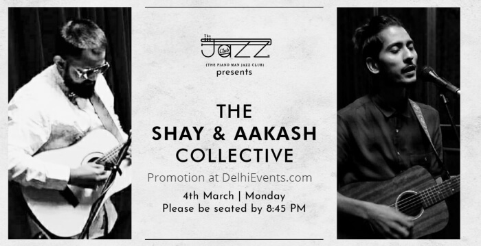 Shay Aakash Collective Piano Man Jazz Club Creative