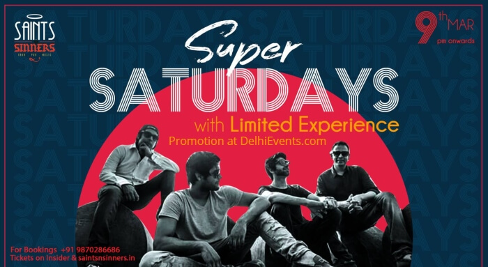 Super Saturdays Limited Experience Saints Sinners Creative