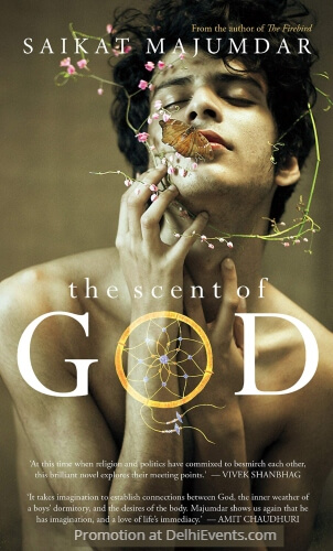 Saikat Majumdar Scent God Book Cover
