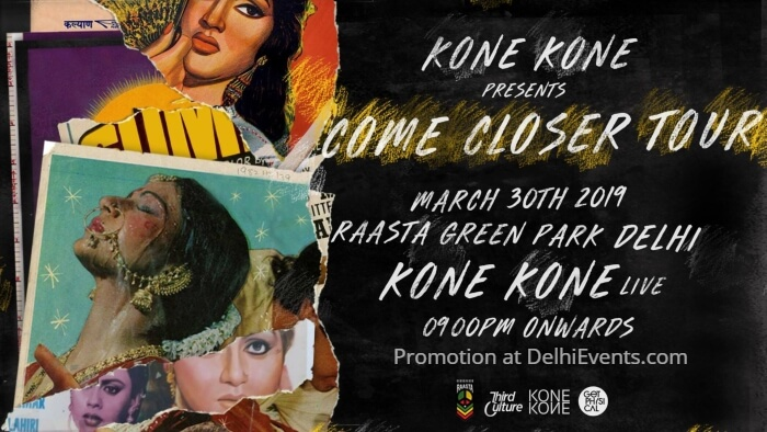 Kone Come Closer Tour Raasta Green Park Creative