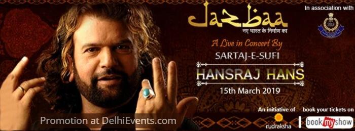 Jazbaa Sufi concert Hansraj Hans Sirifort Auditorium Creative
