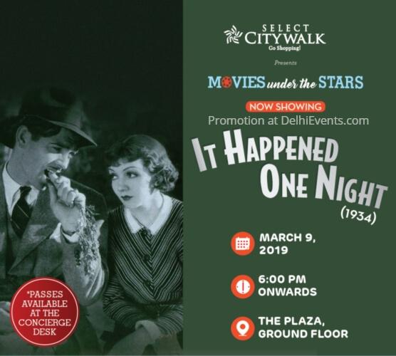 happened One Night Movies Stars Select Citywalk Creative