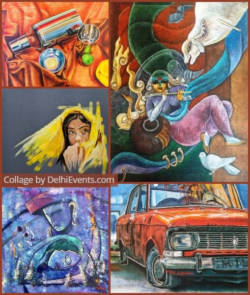17th Collage Annual Art Carnival Exhibition Artworks