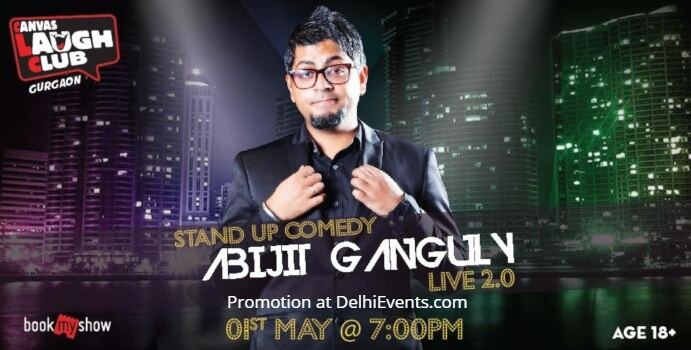 Standup Hinglish Abijit Ganguly Canvas Laugh Club Creative