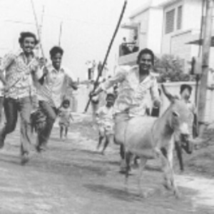 Agraharthil Kazhutai Donkey Brahmin Village Tamil Film Still