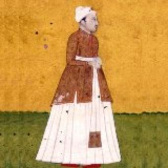 Painting Amir Khusrau