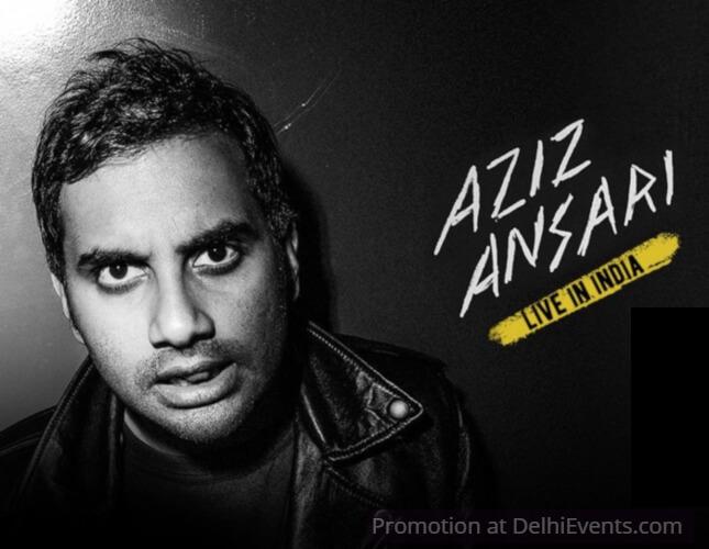 Aziz Ansari Comedy Show Creative