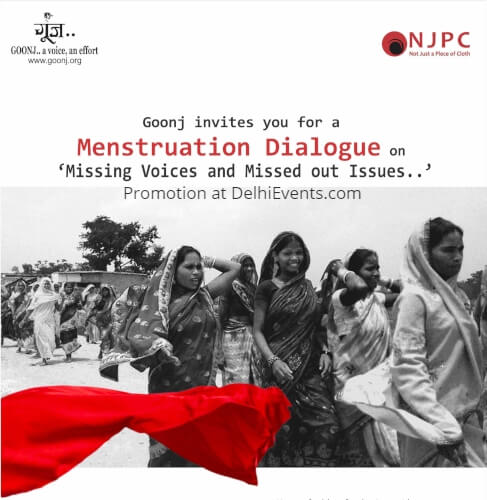 Goonj NJPC Menstruation Dialogue Missing Voices Missed Out Issues Creative