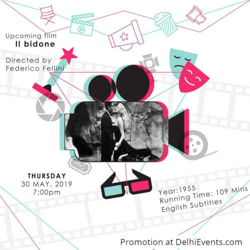 Il Bidone Italian Comedy Film Creative