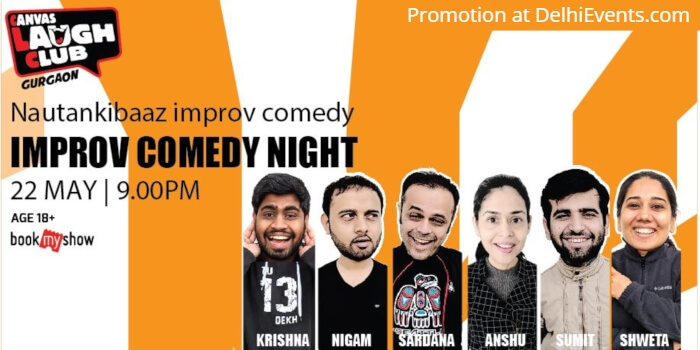 Improv Nautankibaaz Comedy Canvas Laugh Club Creative