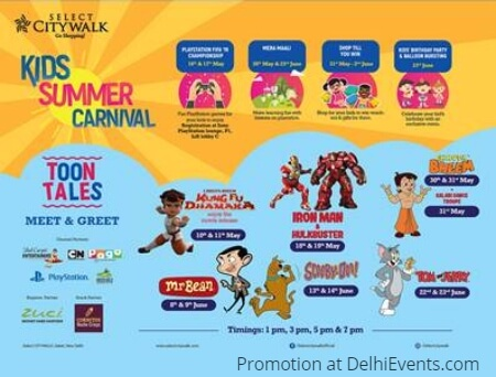 Kids Summer Carnival Select Citywalk Creative