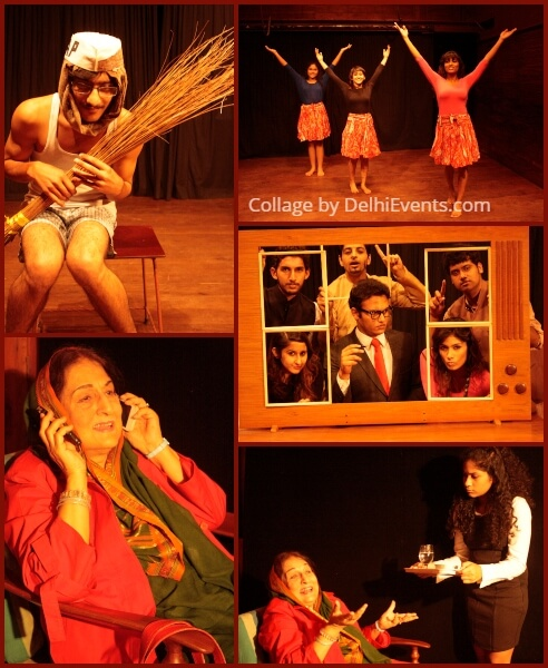 Lets Laugh Again English Play Akshara Theatre Stills