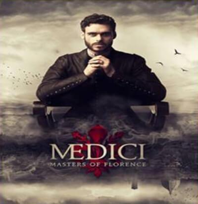 MEDICI Italian British TV drama Poster
