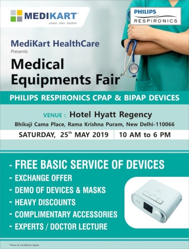 MediKart HealthCare Medical Equipment Fair Hyatt Regency Creative