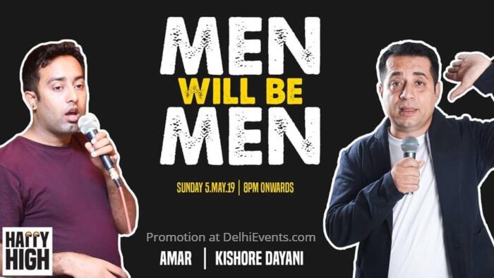 Men Hinglish Standup Kishore Dayani Amar Happy High Creative