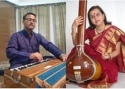 Musicians Chetan Nigam Suranjana Bose
