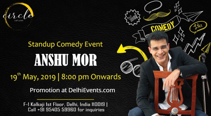 Punchliners standup Hinglish Anshu Mor Circle Cafe Bar Creative