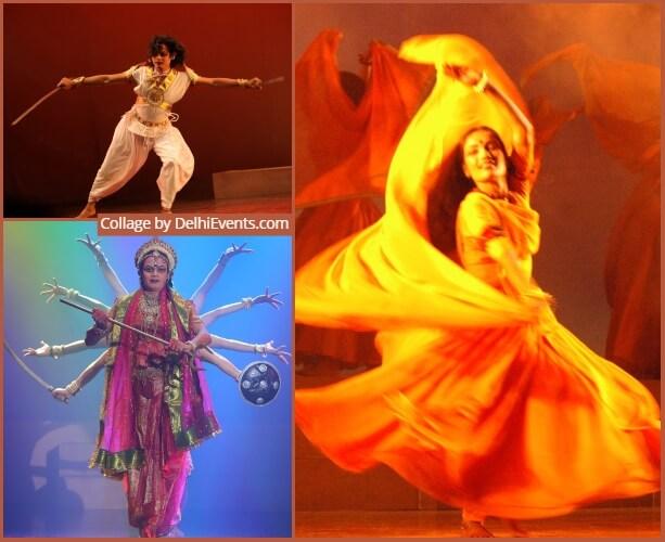 Shriram Bharatiya Kala Kendra Dance Festival Shree Durga Abhimanyu Meera Dance Drama Stills