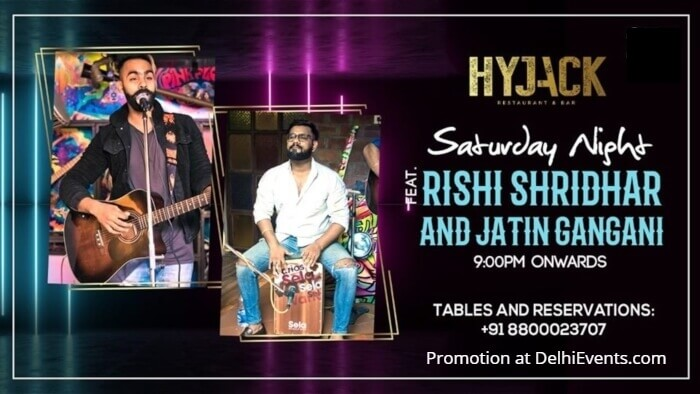 Saturday Night Rishi Jatin Hyjack Creative