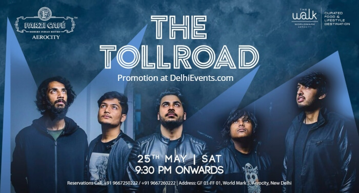Toll Road band Farzi Cafe Aerocity Creative