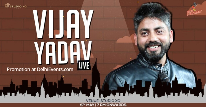 Hinglish standup comic act Vijay Yadav Studio Xo Creative