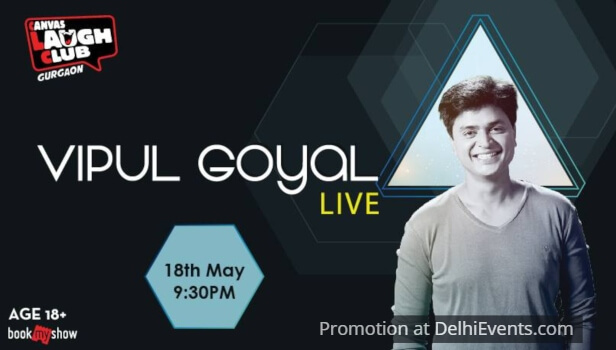 Standup Comedy Vipul Goyal Canvas Laugh Club Creative