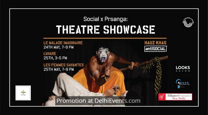 Adi Theatre Social Alliance Française Moliere Theatre Festival Creative