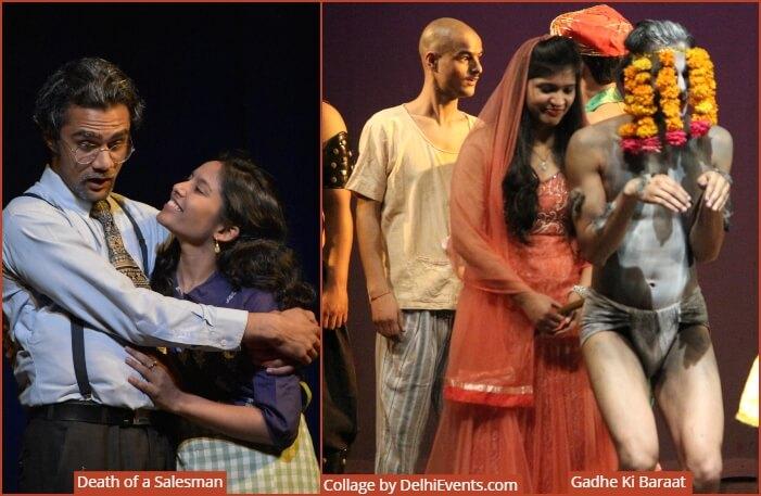 Bela Theatre Karwaan Death Salesman Gadhe Ki Baraat Plays Stills