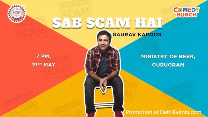 Comedy Munch Sab Scam Hai Hinglish Standup Gaurav Gupta Ministry Beer Creative