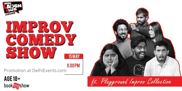 Playground Improv Collective comedy Hinglish Canvas Laugh Club Creative