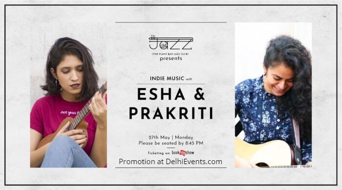 Esha Prakriti Piano Man Jazz Club Creative