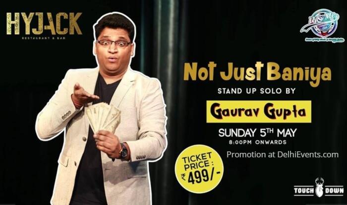 Not Just Baniya Hinglish standup Gaurav Gupta Hyjack Creative