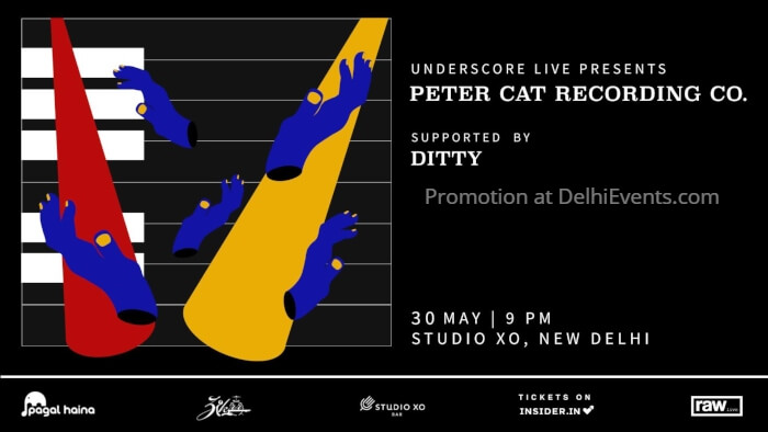 Underscore Peter Cat Recording PCRC Ditty Studio Xo Creative